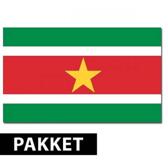 Suriname thema artikelen pakket