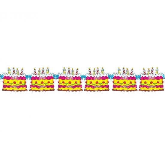 Taart slingers verjaardag
