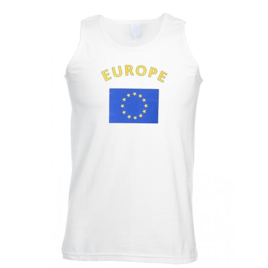 Tanktop met vlag Europa print