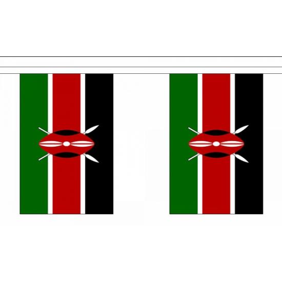 Vlaggenlijn Kenia deluxe