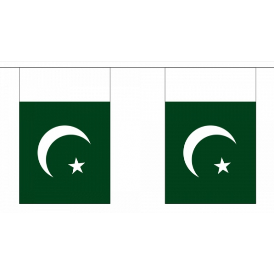 Vlaggenlijn Pakistan 9 meter