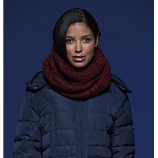 Warme ronde sjaal