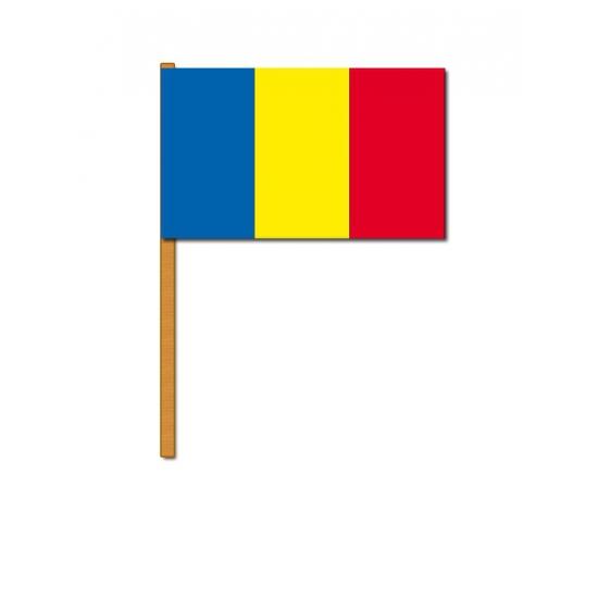 Zwaaivlaggetjes Roemenie (bron: Shirtszone)