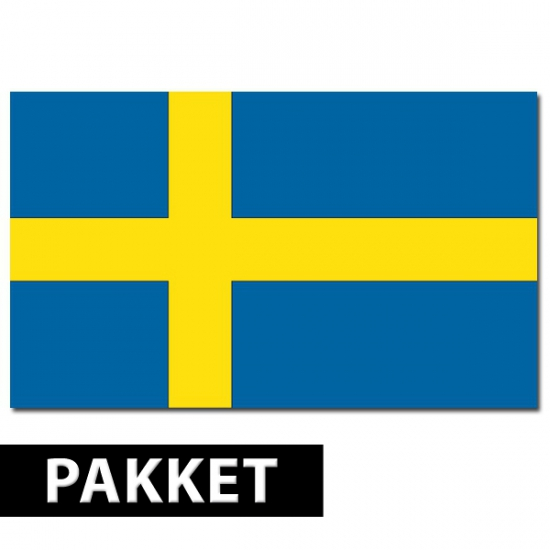 Zweedse thema artikelen pakket