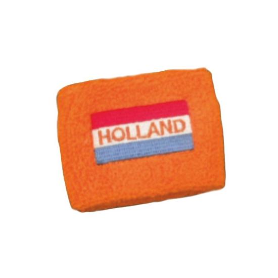 Zweetbandjes met Hollandse vlag
