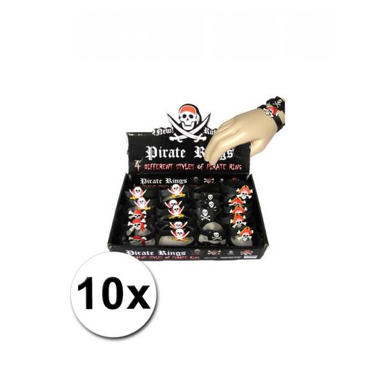 10 Piraten armbanden voor kinderen