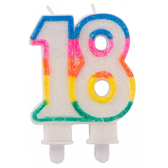Leeftijd feestartikelen 18 feest kaars