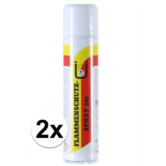 2x impregneerspray natuurlijke materialen brandvertragend 400 ml