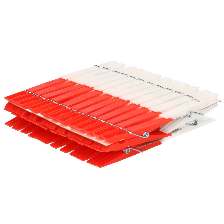48x Plastic wasknijpers