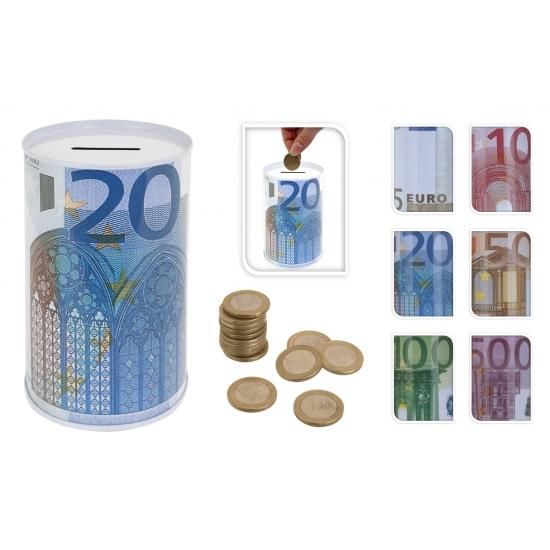 50 eurobiljet spaarpot 13 cm