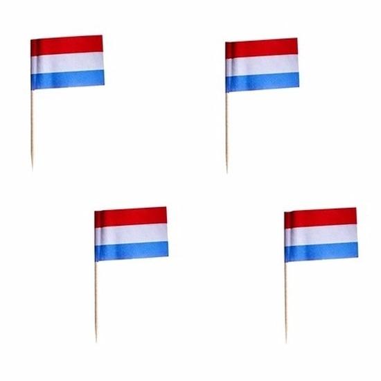 Landen versiering en vlaggen Geen 500x cocktailprikkers Nederland