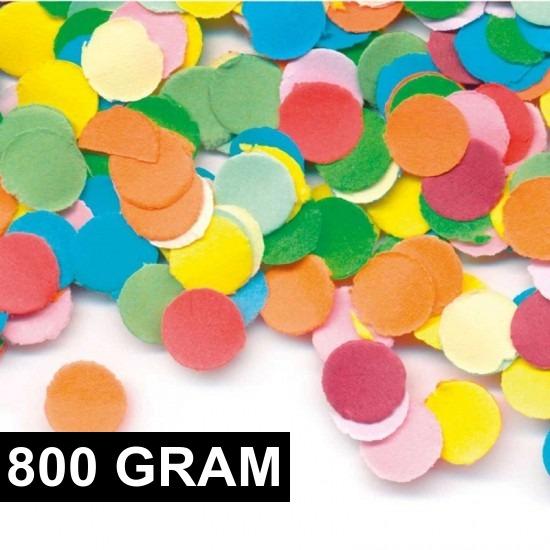 Feestartikelen diversen 800 gram Multicolor snippers