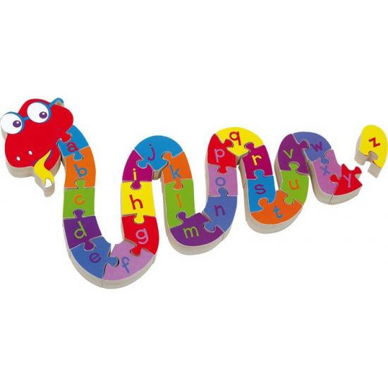Alfabet puzzels slang voor kinderen