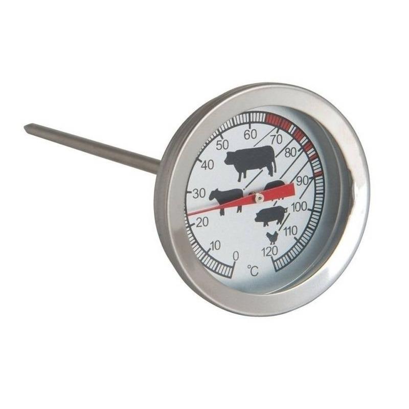 Analoge vleesthermometer-keuken thermometer RVS