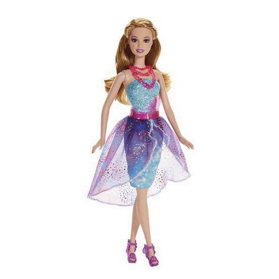 Barbie secret door blauw