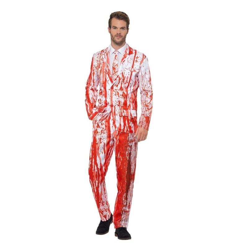 Bloederige smoking kostuum voor heren