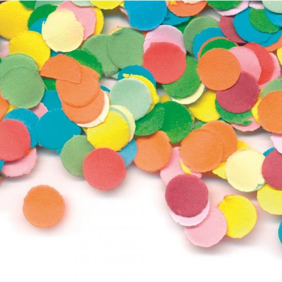 Brandvertragende confetti zakje 100 gram Geen Feestartikelen diversen