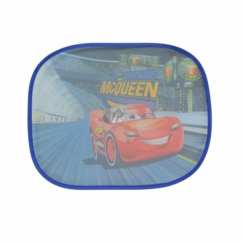 Cars McQueen auto zonnebeschermers 2 st