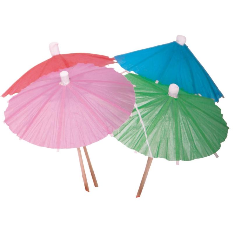 Cocktail parasols 15 stuks Geen Goedkoop