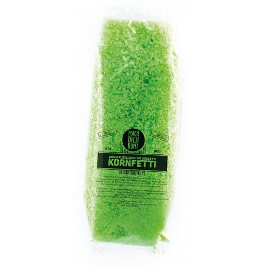 Feestartikelen diversen Geen Confetti groen biolosch oplosbaar