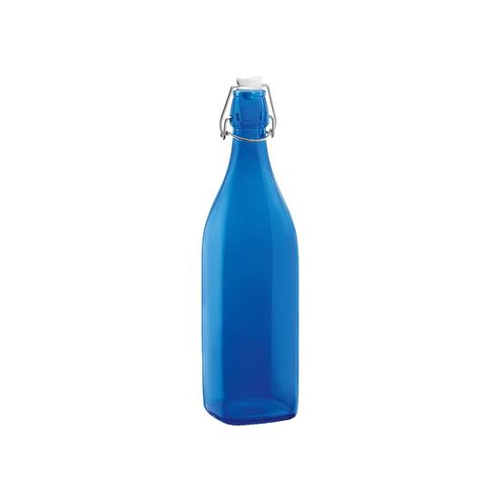 Decoratie flessen kobalt blauw 1 L