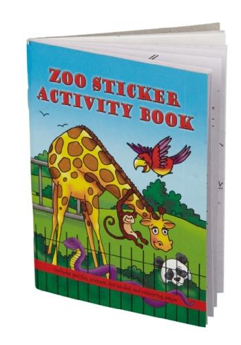 Dierentuin thema kleurplaten boek