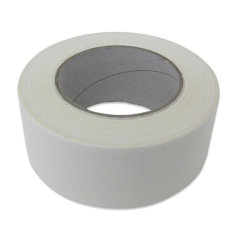 Ducttape rol wit 50mm x 50 meter