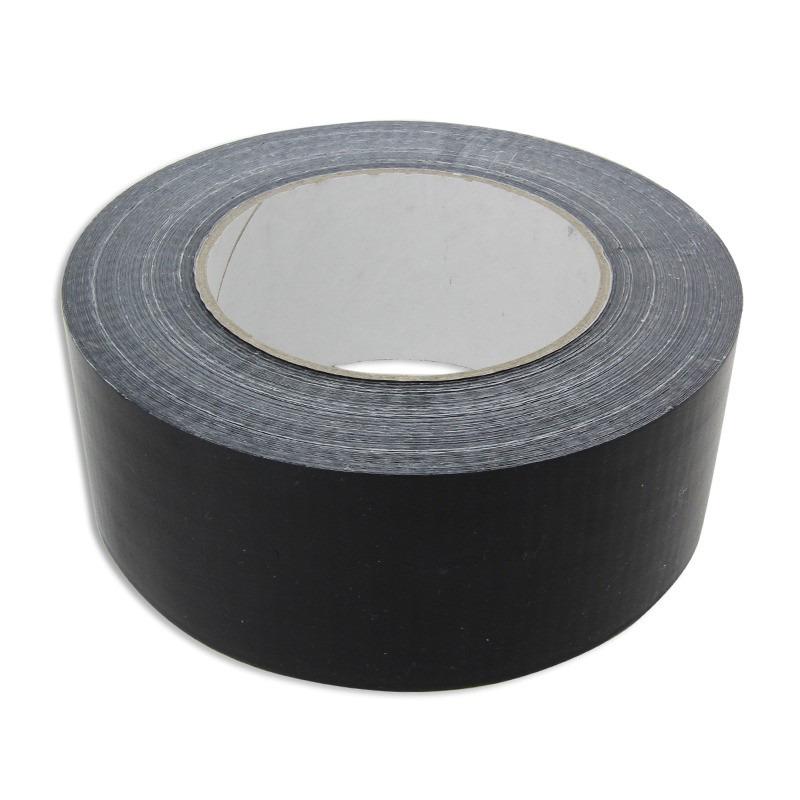 Ducttape rol zwart 50mm x 50 meter