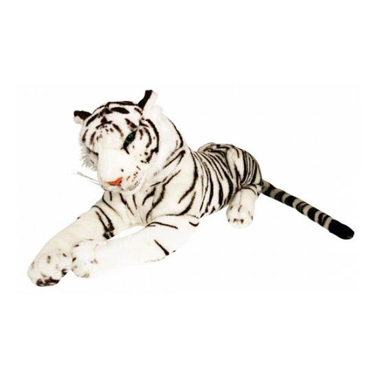 Extra grote witte tijger 100 cm