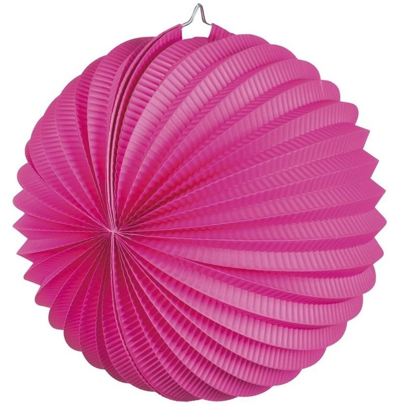 Fuchsia roze gekleurde feest lampionnen Geen Kopen