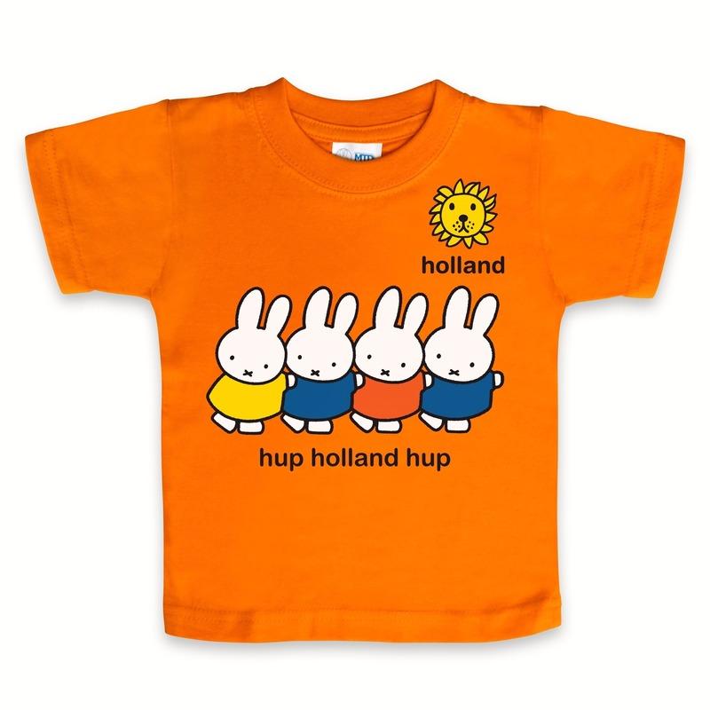 Geboorte kado Nijntje t-shirt Holland