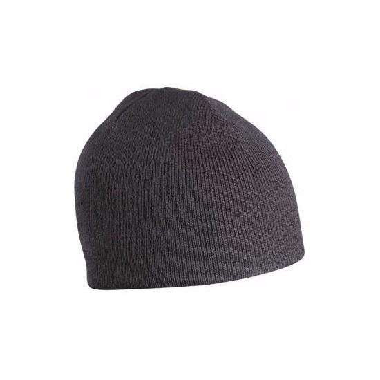 Gebreide wintermutsen zwart voor vrouwen