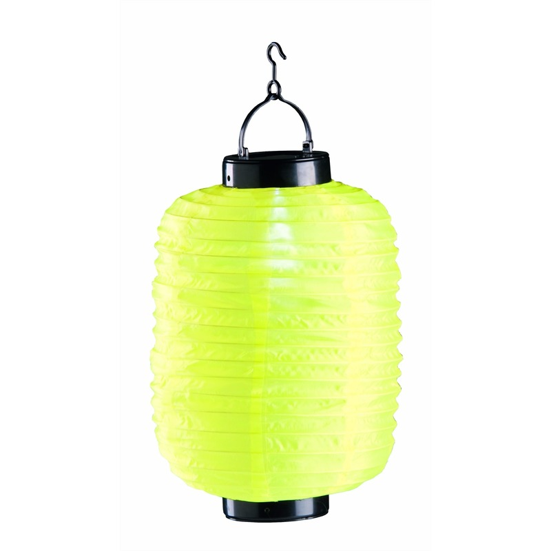Tuin artikelen Geen Gele solar lampion 35 cm