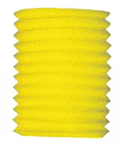 Geen Gele treklampion 20 cm diameter Feestartikelen diversen