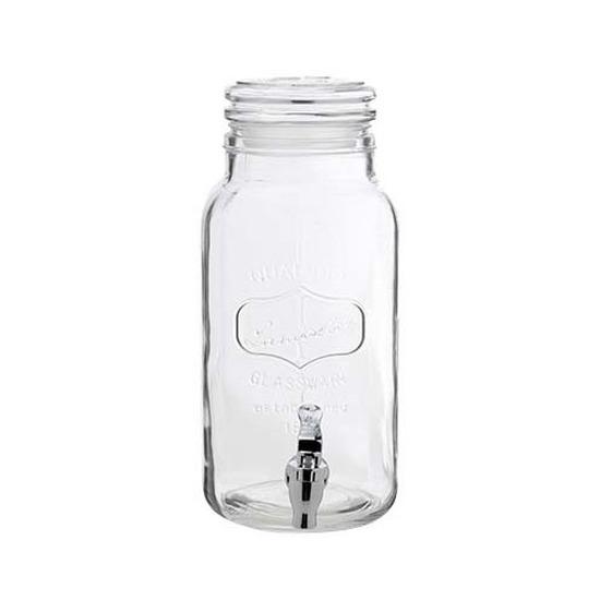 Glazen drank dispenser 3,75 liter