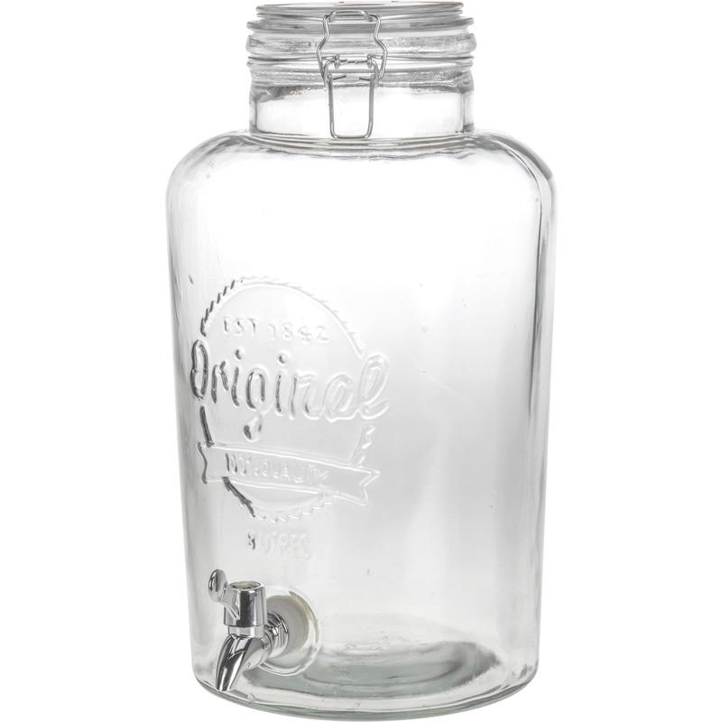 Glazen drank dispenser 8 liter