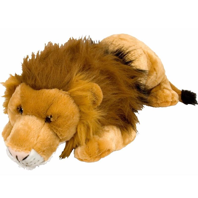 Grote leeuwen knuffels 76 cm