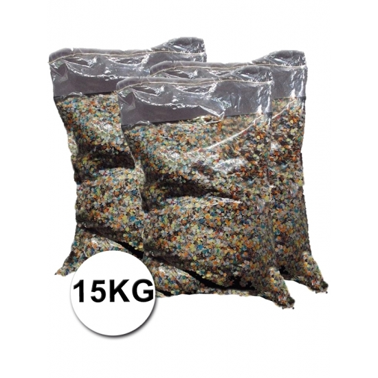 Feestartikelen diversen Geen Grote verpakking confetti snippers ca. 15 kilo