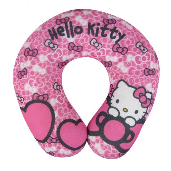 Hello Kitty vliegtuig kussen roze