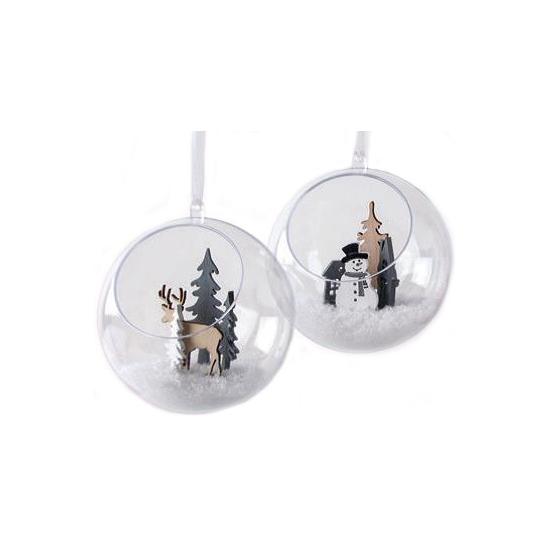 Hobby kerstballen open 12 cm maken
