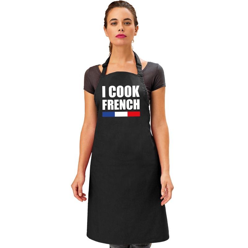 I cook French keukenschort