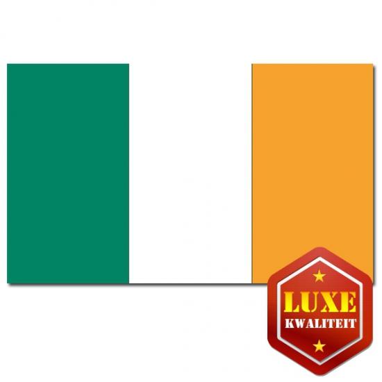 Landen versiering en vlaggen Ierse landen vlaggen