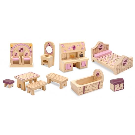 Kasteel Princess meubel decoratie set