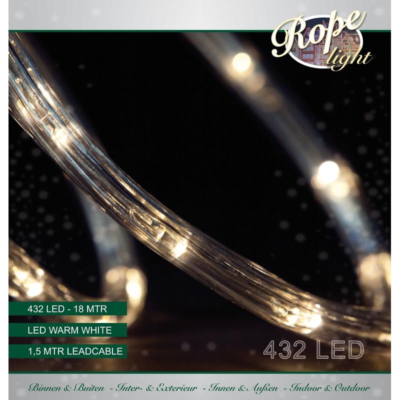 Kerstverlichting lichtslang 432 lampjes warm wit 18 m