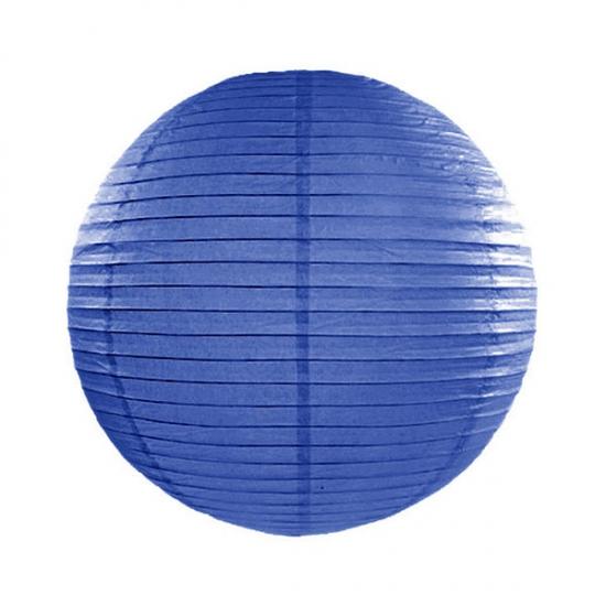 Feestartikelen diversen Lampion 25 cm donker blauw