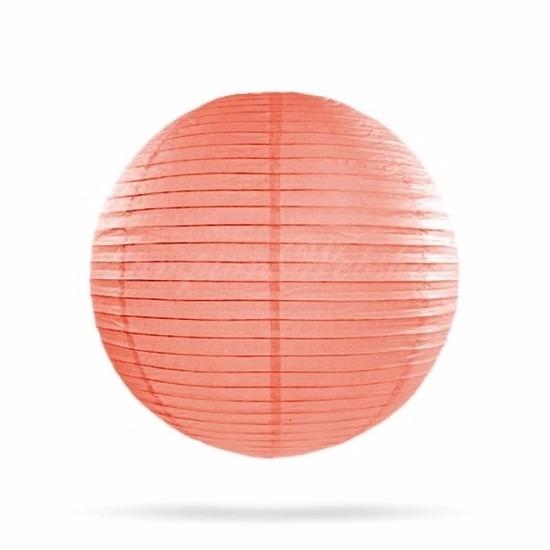 Lampion 25 cm zalm roze Geen goedkoop online kopen