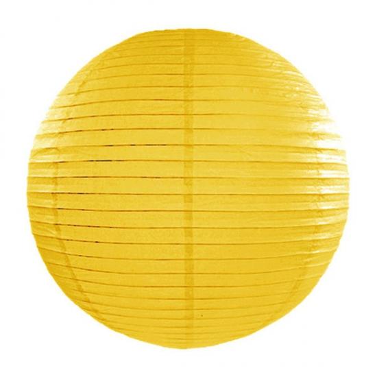 Feestartikelen diversen Geen Lampion 35 cm geel