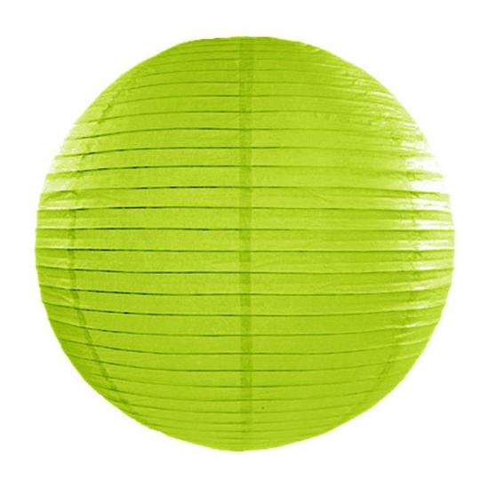 Lampion 35 cm groen Geen Feestartikelen diversen