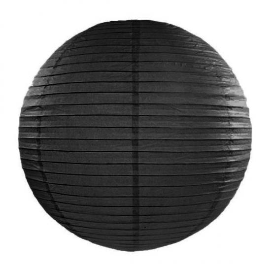 Feestartikelen diversen Geen Lampion 35 cm zwart