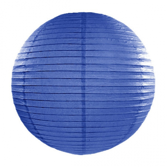 Feestartikelen diversen Geen Lampion 50 cm donker blauw